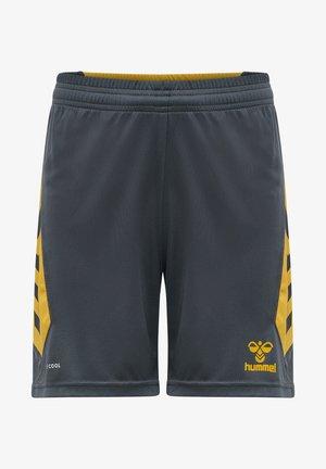 HMLACTION  - Sports shorts - ebony/tawny olive