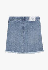 3 Pommes - SKIRT - Denimová sukně - indigo - 1