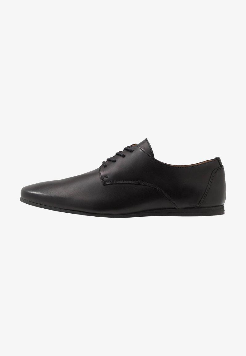 Zign - LEATHER - Chaussures à lacets - black
