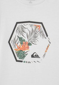 Quiksilver - FADING OUT - Print T-shirt - white - 2