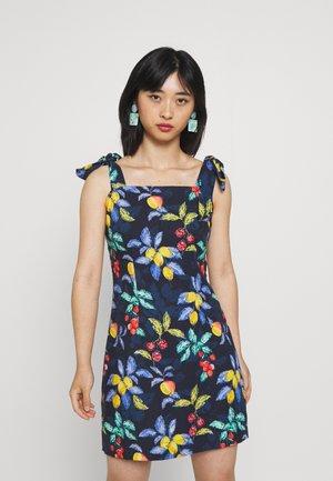 SEVILLE MINI DRESS - Day dress - blue