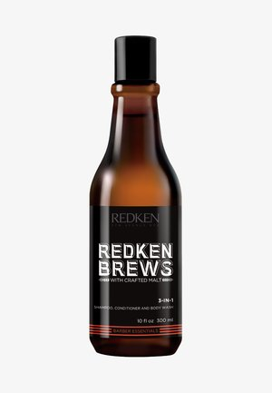 REDKEN BREWS 3 IN 1 SHAMPOO - Schampo - -