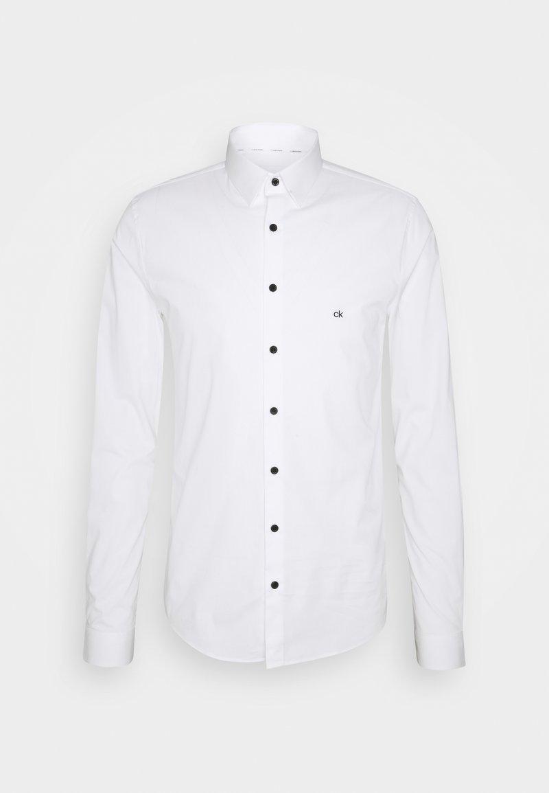 Calvin Klein Tailored - LOGO STRETCH EXTRA SLIM - Formal shirt - white