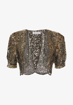 LADIES BOLERO - Blazer - gold