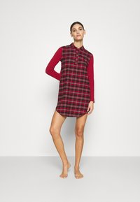 Skiny - Nightie - red check - 1
