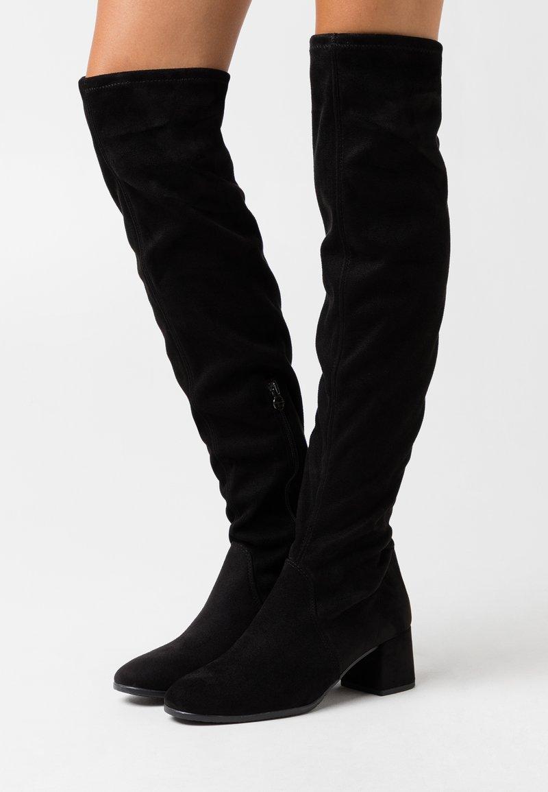 Tamaris - Overknee laarzen - black