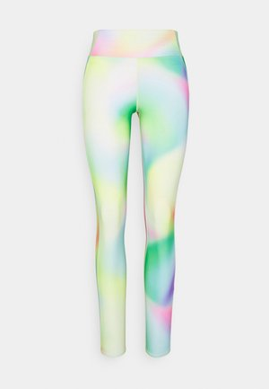 MULTIPATH LEGGING  - Leggings - yellow