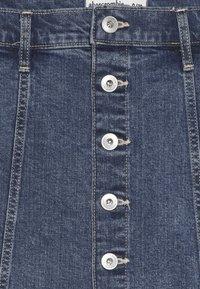 Abercrombie & Fitch - SKIRT - Denim skirt - medium wash denim - 3