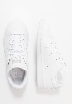 STAN SMITH - Baskets basses - footwear white/silver metallic
