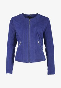 deercraft - MIA ZV - Leather jacket - crown blue - 2