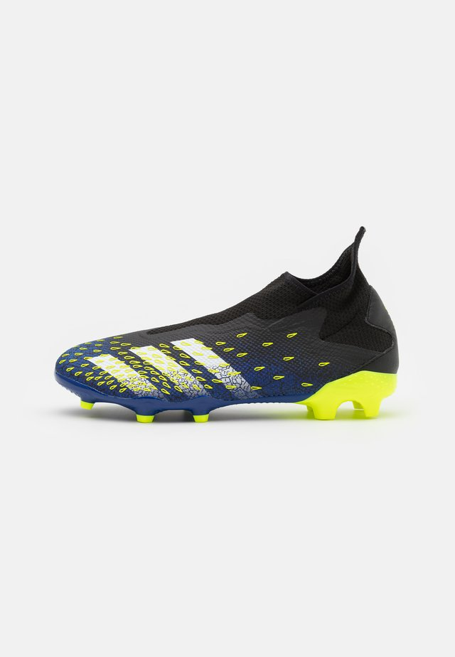 PREDATOR FREAK .3 FG - Korki Lanki - core black/footwear white/solar yellow