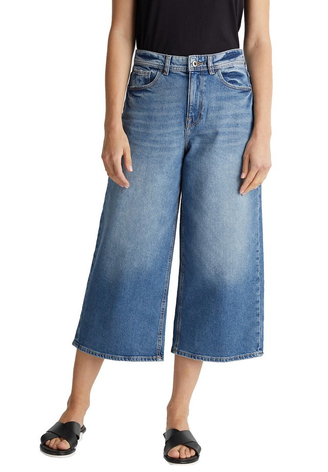 FASHION - Short en jean - blue medium washed