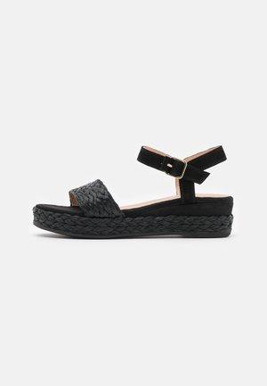 GABIR - Sandály na platformě - black