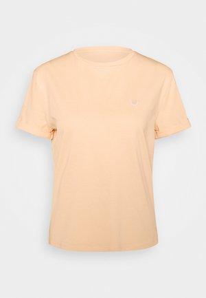 SERZ - Jednoduché triko - apricot