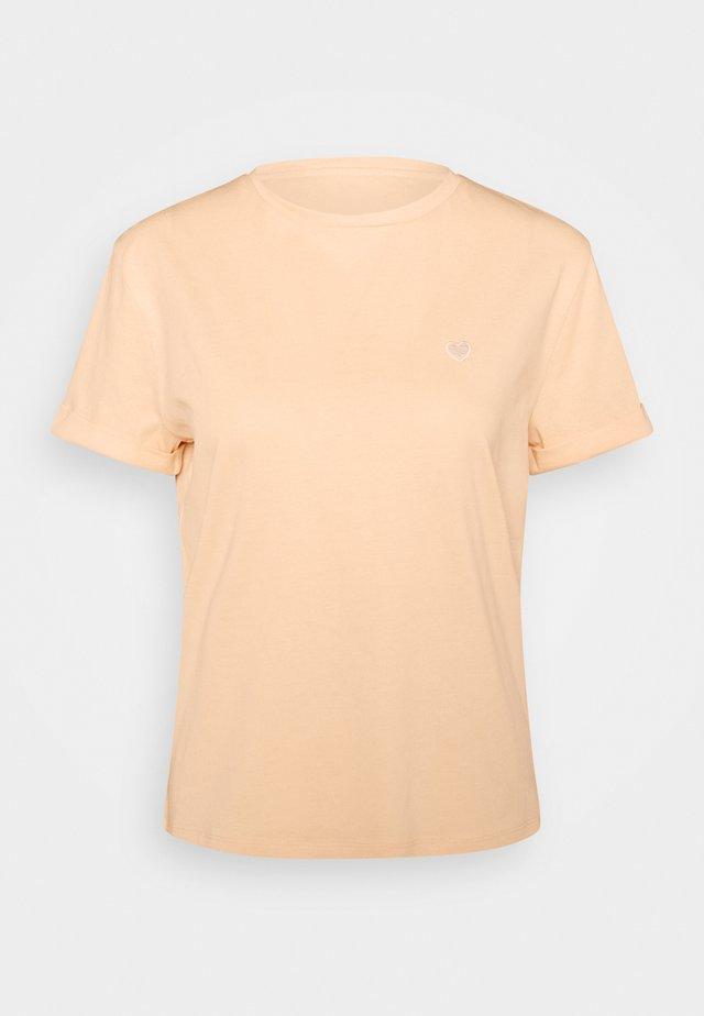 SERZ - T-shirt basic - apricot