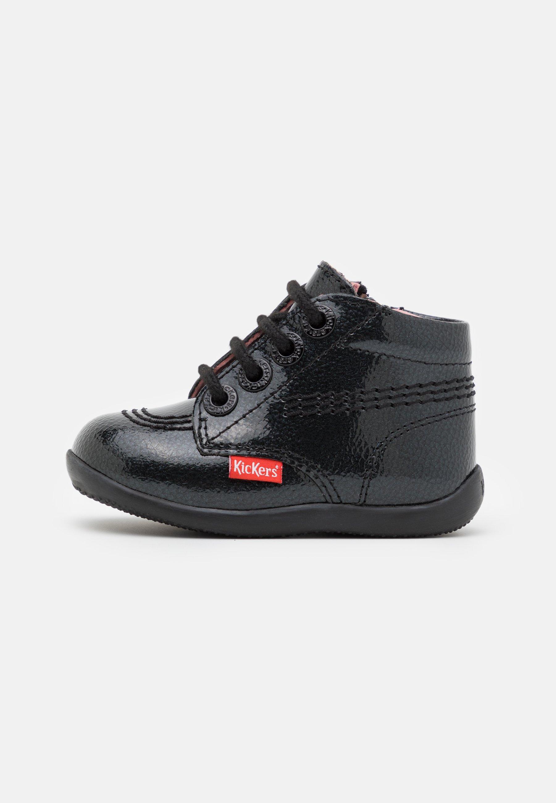 Kids BILLISTA ZIP - Lace-up ankle boots