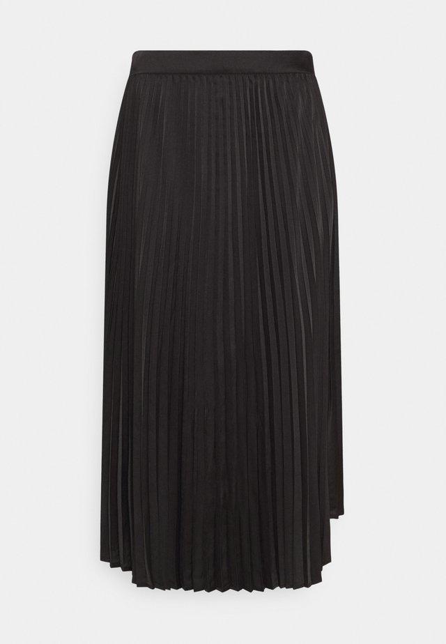 SENTA SKIRT - Áčková sukně - black