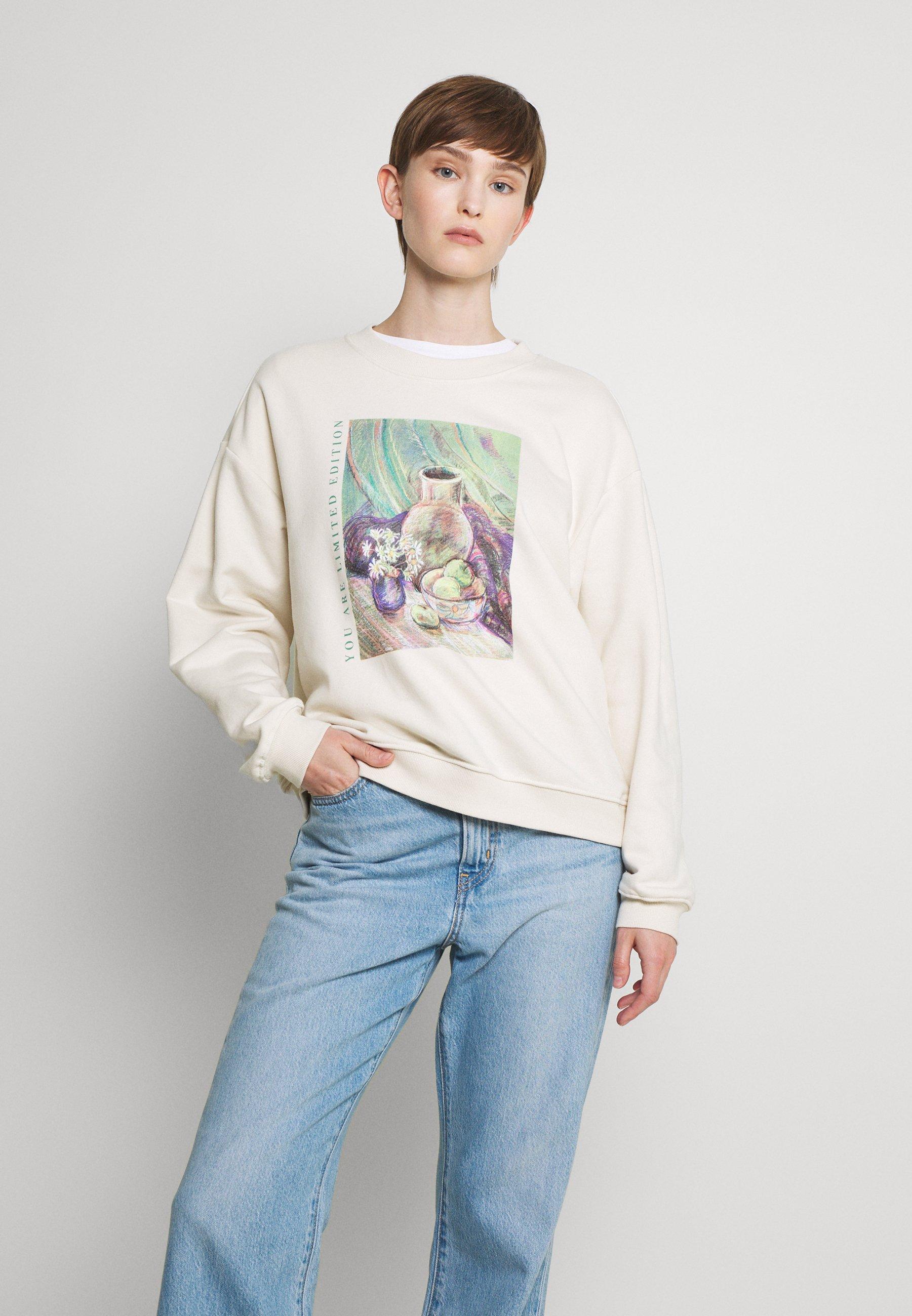 Women Sweatshirt - white