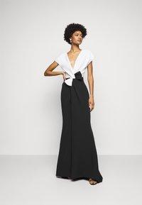 Marchesa - Suknia balowa - black/white - 1