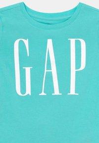 GAP - GIRLS ARCH LOGO - Print T-shirt - aqua glaze - 2