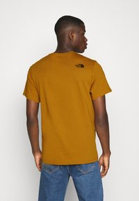 The North Face - FINE TEE - Print T-shirt - timber tan - 2