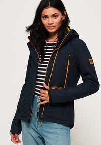 Superdry - VELOCITY - Outdoor jacket - navy blue - 0