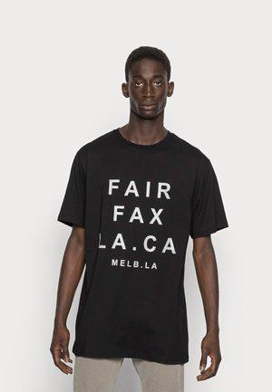 QUARTZ - T-shirt print - black