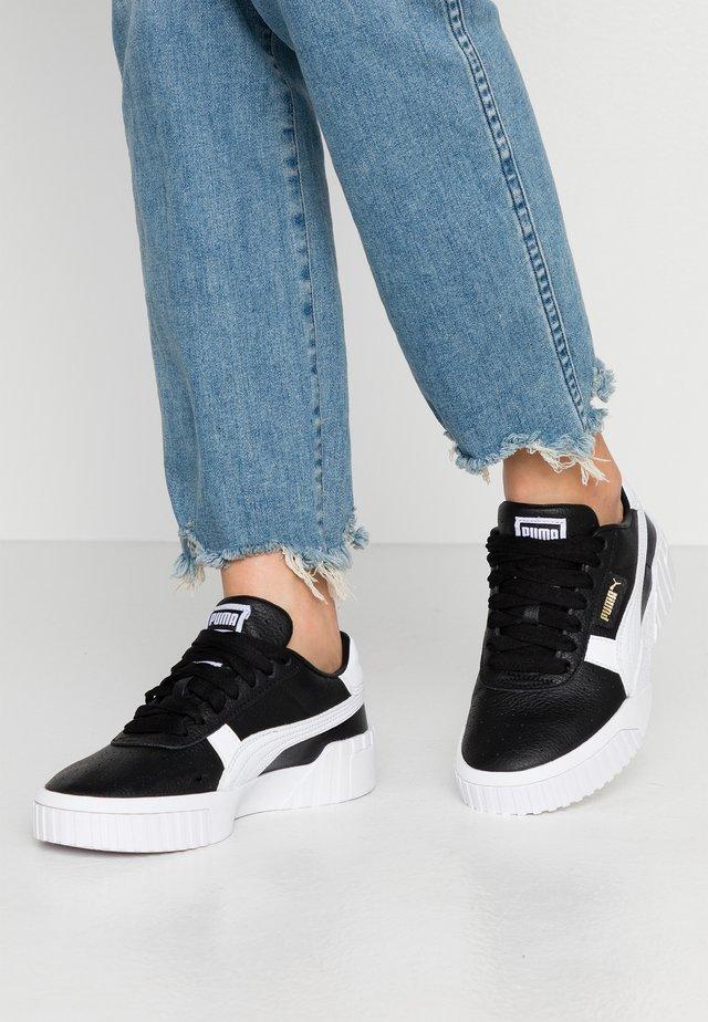 CALI - Baskets basses - black/white