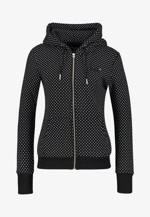 MIT KAPUZE - Zip-up hoodie - schwarz