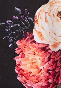 Anna Field - A-lijn rok -  black/pink - 2