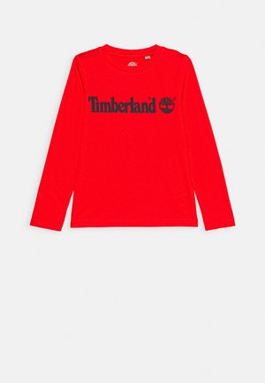 LONG SLEEVE - Langarmshirt - bright red
