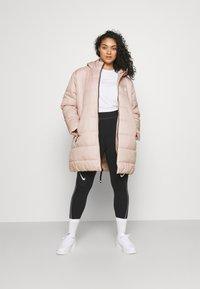 Nike Sportswear - CLASSIC - Winter coat - pink oxford/black/white - 1