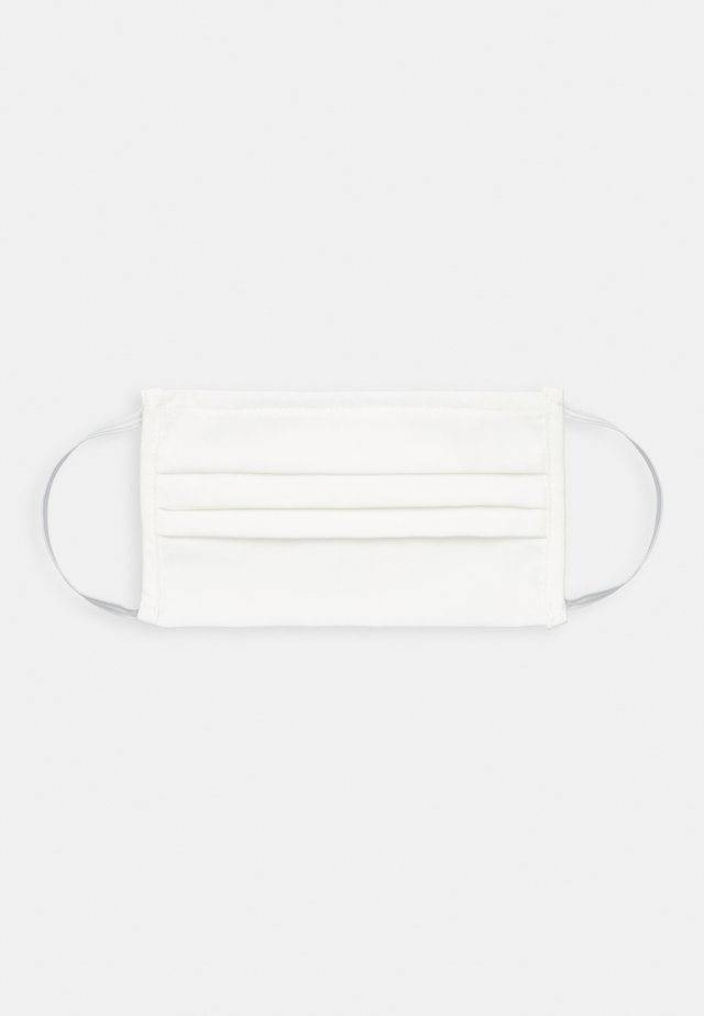 FACE MASK UNISEX - Stoffen mondkapje - white