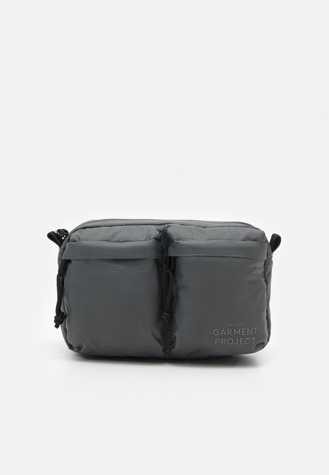 NYLON BUM BAG - Ledvinka - grey