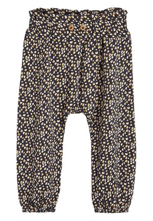 Trousers - anthracite, yellow