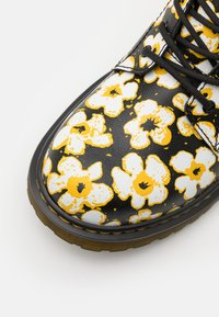 Dr. Martens - 1460 PASCAL - Lace-up ankle boots - black/yellow - 5