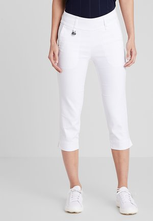 MAGIC CAPRI - Pantaloni - white