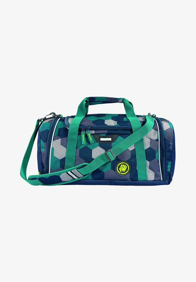 SPORTERPORTER  - Sports bag - blue geometric melange