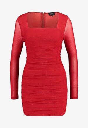 TASHA DRESS - Sukienka koktajlowa - crimson red