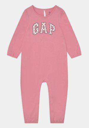 LOGO - Jumpsuit - pink granite