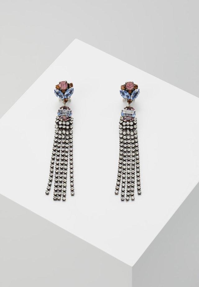 Earrings - light blue