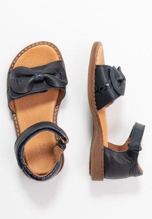 LORE CLOSED HEEL MEDIUM FIT - Sandals - dark blue