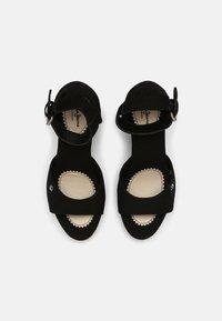 Pepe Jeans - MAIDA BASS - Platform sandals - black - 4