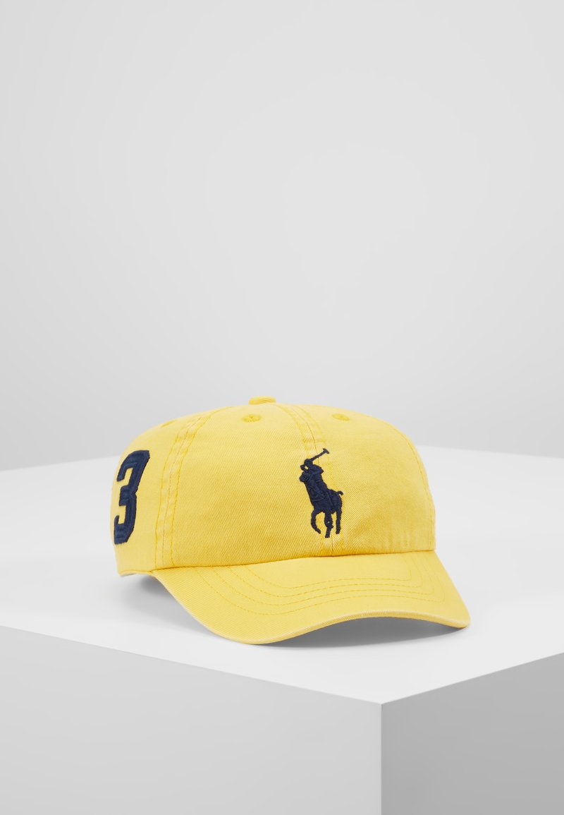 Polo Ralph Lauren - BIG APPAREL HAT - Lippalakki - chrome yellow