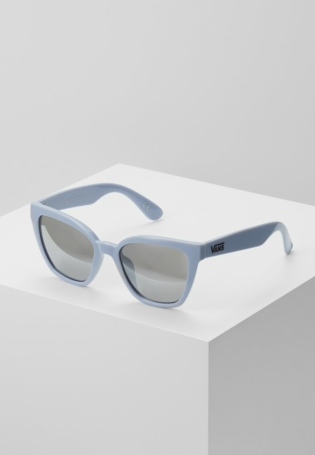 HIP CAT SUNGLASSES - Sonnenbrille - zen blue/silver