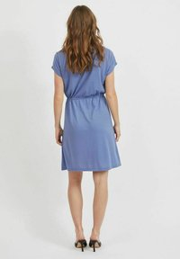 Vila - VIMOONEY STRING - Jersey dress - colony blue - 2