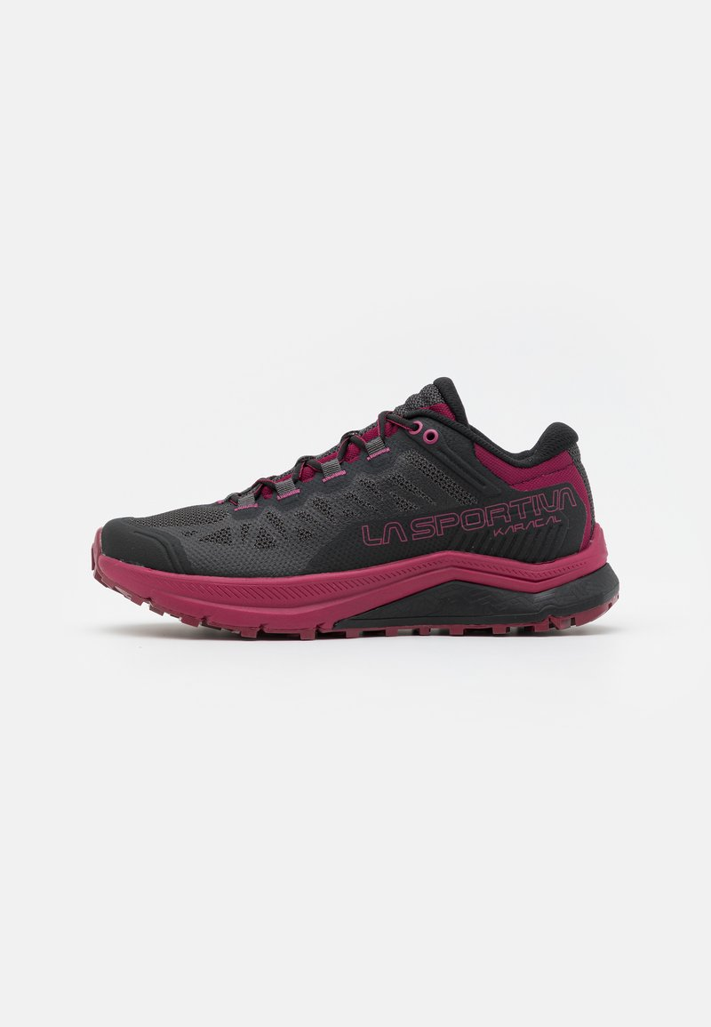 La Sportiva - KARACAL  - Běžecké boty do terénu - hibiscus/flamingo