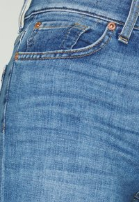 7 for all mankind - ROXANNE ANKLE UNROLLED - Slim fit jeans - grove