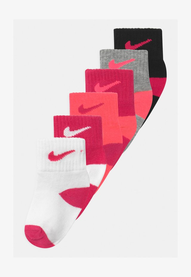 LOGO TODDLER 6 PACK - Socken - rush pink