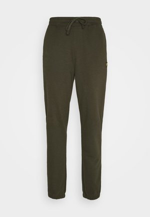 DOUBLE BRUSH TRACK PANT - Verryttelyhousut - trek green